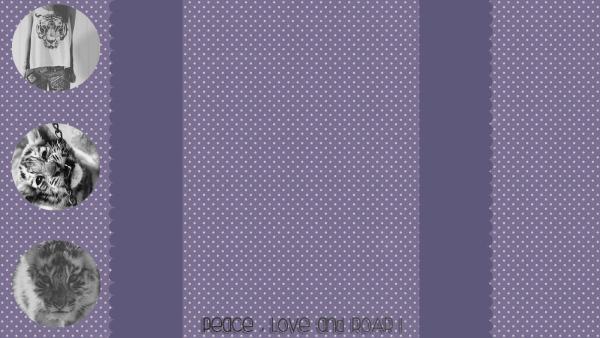 """Habillage n°1 : """" PurpleRoar """""""