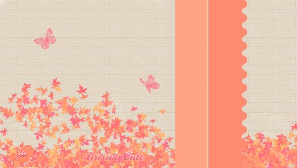 Habillage N°21 : AutumnButterfly