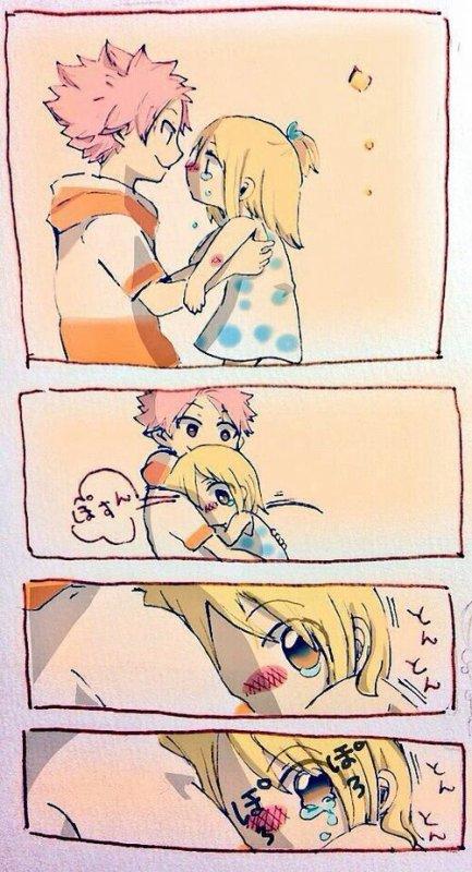 ☛Natsu Lucy petit ❀