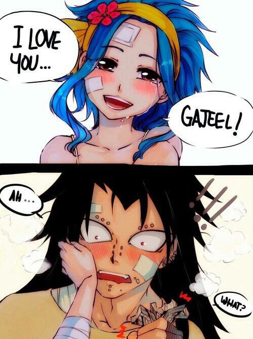 I LOVE YOU GAJEEL ❀