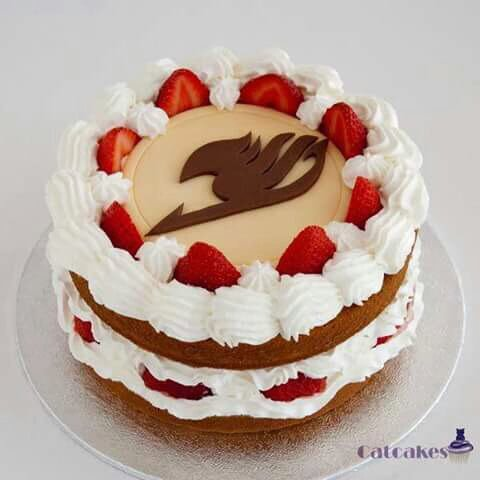 Gâteau de fairy Tail ❀
