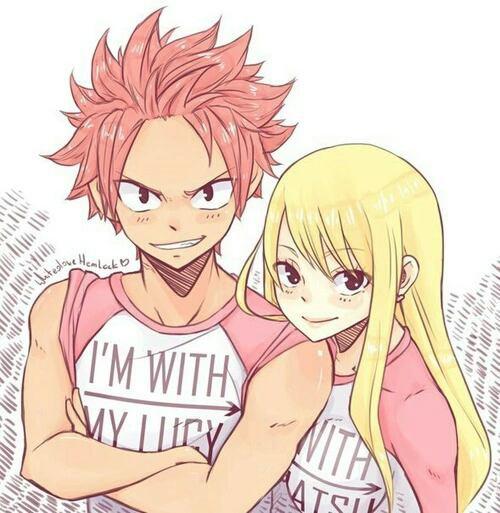 I'M WITH MY Lucy..Juvia I'M WITH MY Natsu..Grey.