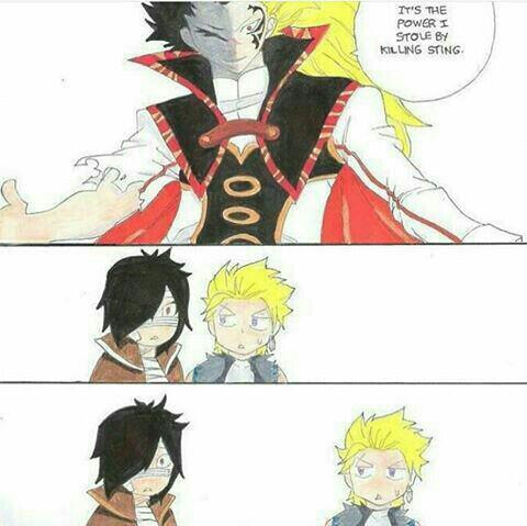 Fusion entre Sting et Rogue.,