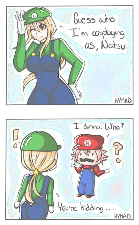 Luigi and Mario.