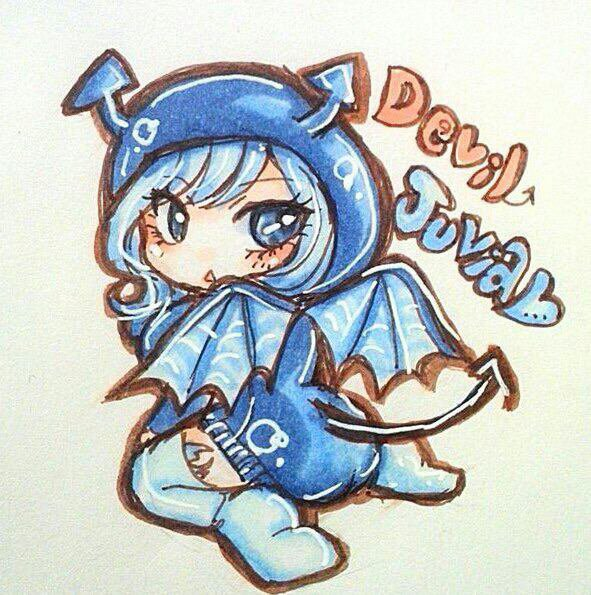 Devil. (juvia). Dragon (lucy)