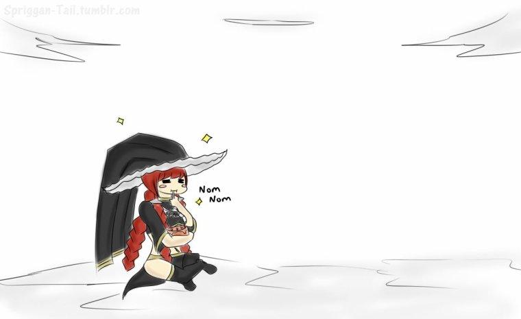 Bataille entre Scarlet.(1)