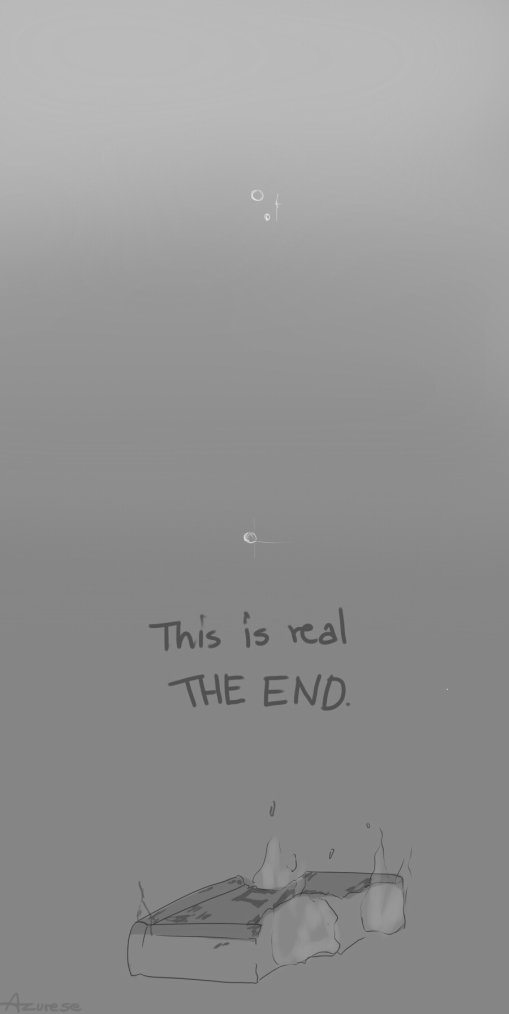 This is real THE END.