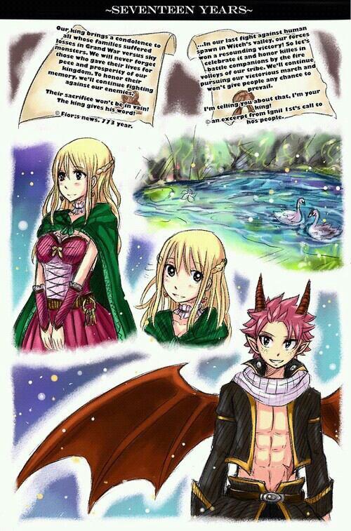 Histoire de lucy et le dragon Natsu. (parti 1)