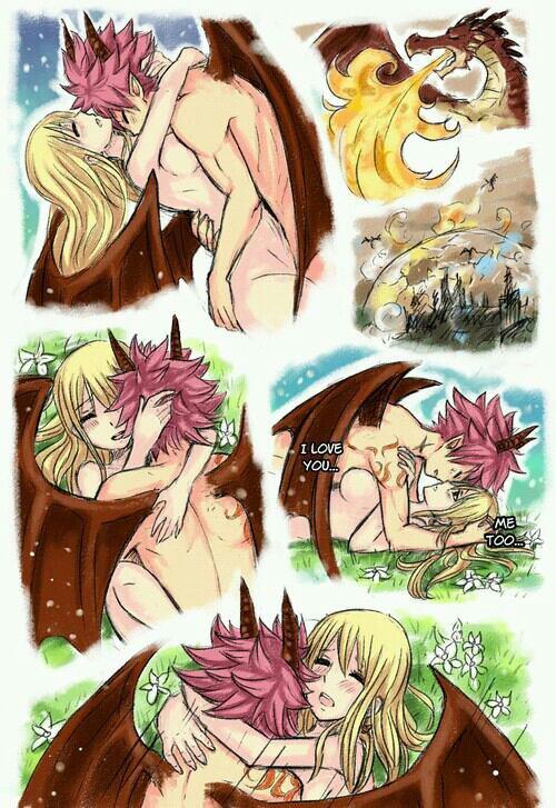 L'histoire de lucy et le dragon Natsu (parti 2)