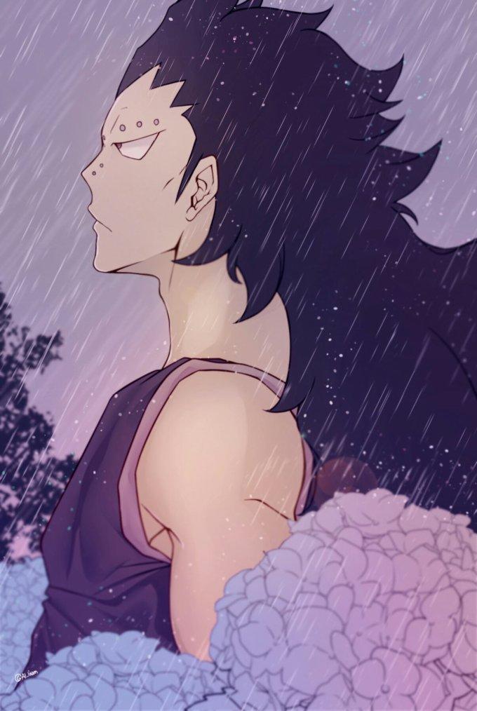 -Sous la pluie.