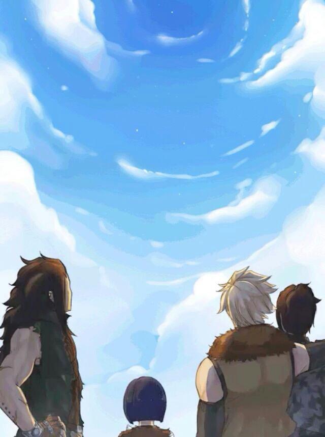 -Le ciel.