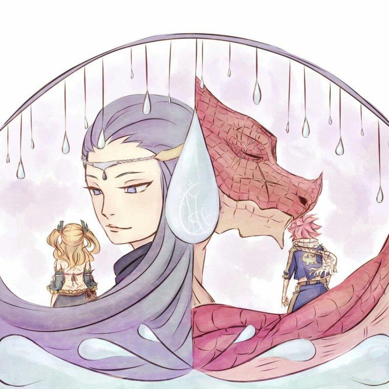 -Tristesse de Lucy et Natsu-
