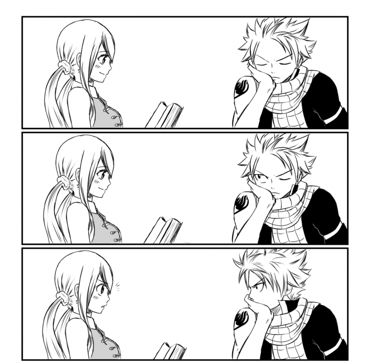 Lesson No.1 : Don't let Natsu be bored - By Lucy.