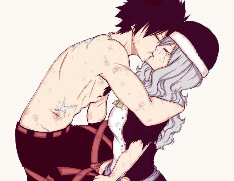 -Gray en larmes.