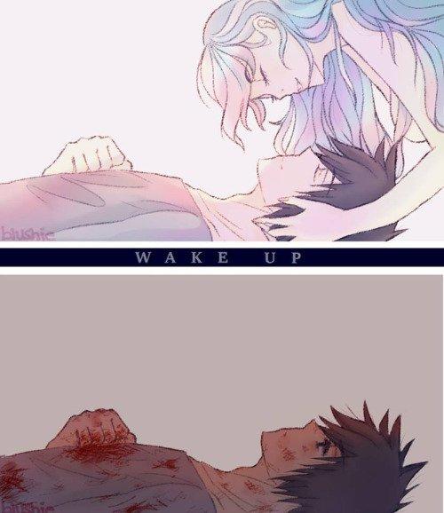 WAKE UP.
