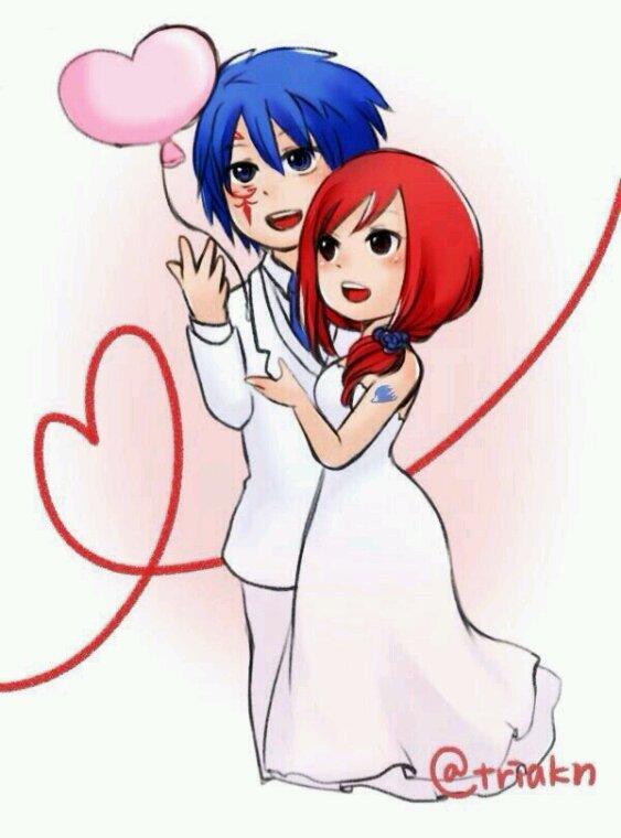 Mariage gruvia jerza.❤