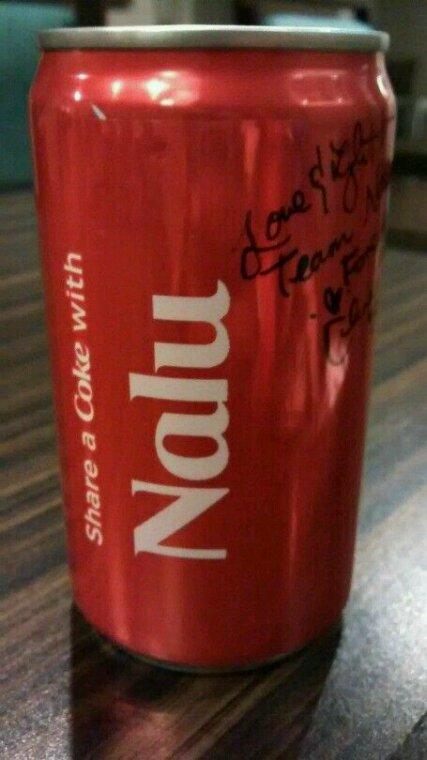 ♥Coca-Cola Nalu.