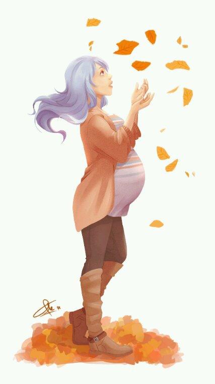 ♥Juvia enceinte!*
