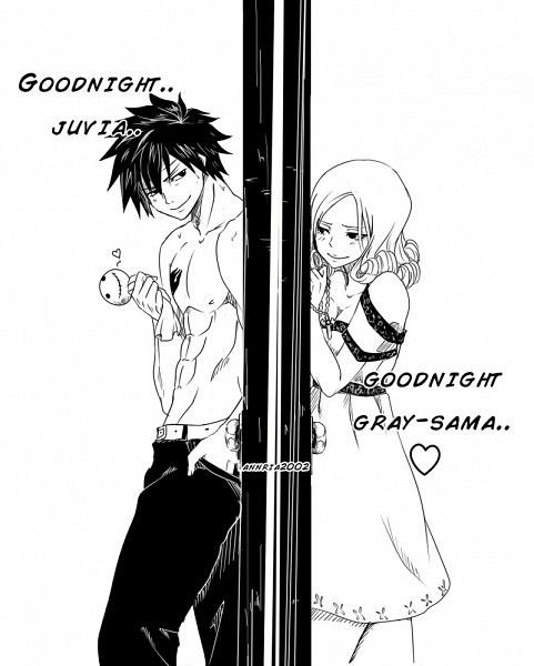 GOODNIGHT JUVIA-GRAY-SAMA.!