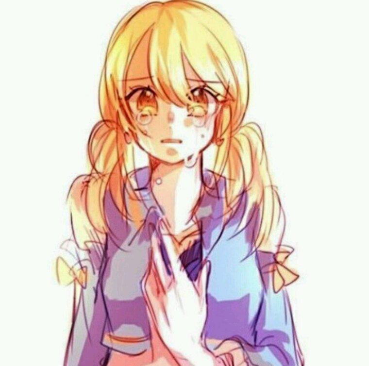 Lucy en pleure♥