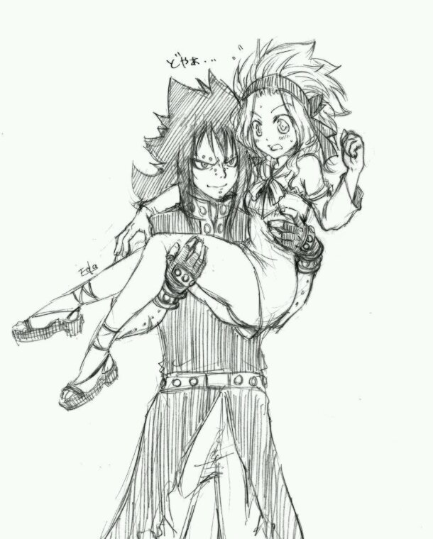 Levy and Gajeel!