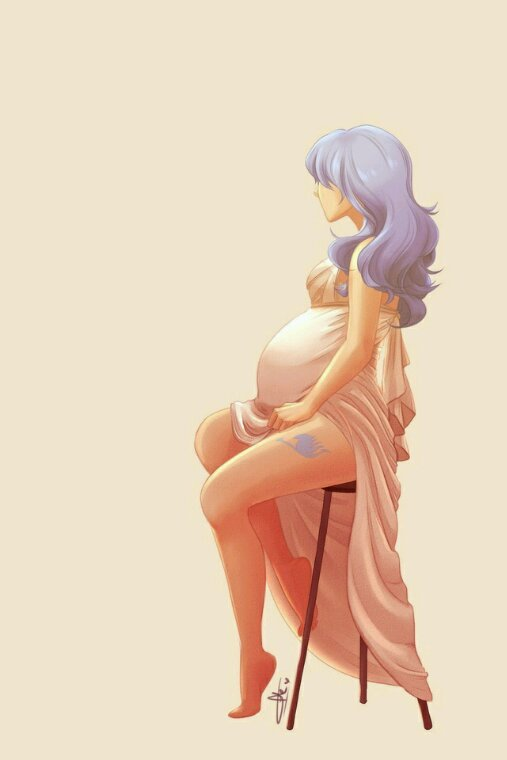 Juvia la femme enceinte
