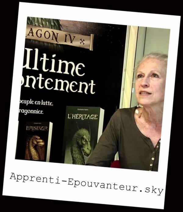 Entretien avec (non pas un vampire!) Marie-Hélène Delval