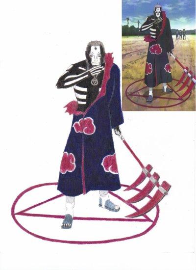Dessin de Hidan (Naruto)