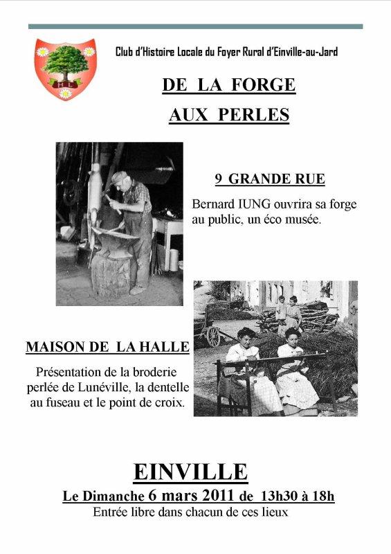 DE LA FORGE AUX PERLES