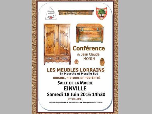 Conférence de Jean Claude Monin