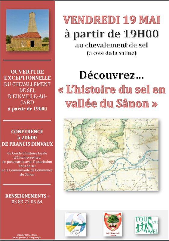 """""""L'Histoire du Sel en Vallée du Sânon"""""""