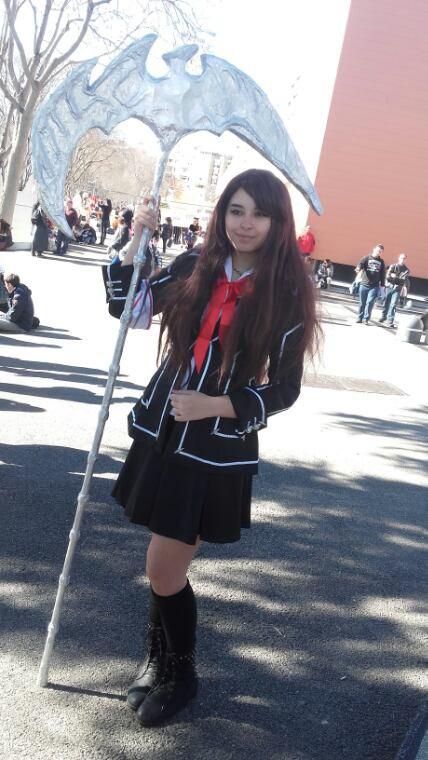 Japan expo : Écolière