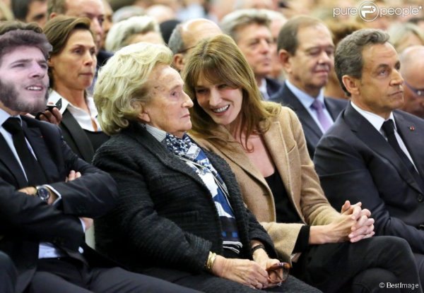 Geoffrey en meeting avec Bernadette Chirac. Emotions