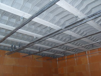 Pose des rails pour placo plafond blog de cheznoosmikit34 - Pose plaque placo plafond ...