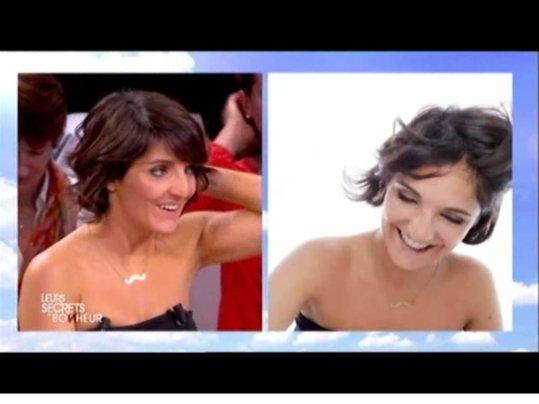 """Florence à l'émission """" Leurs secrets du bonheur """""""