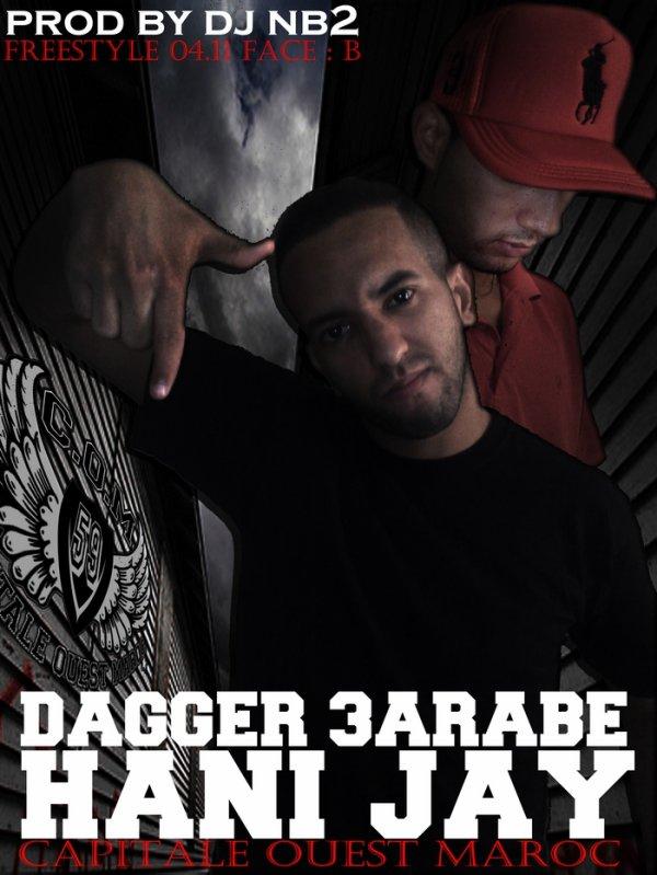 Freestyle 04.11 Face B / Dagger 3Arabe - Hani Jay (2011)