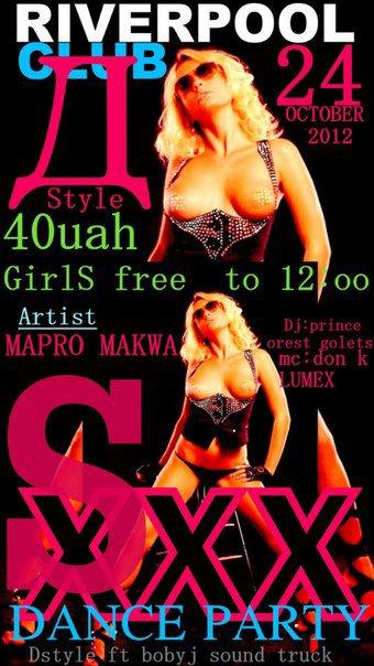 xxx party 24/10/2012