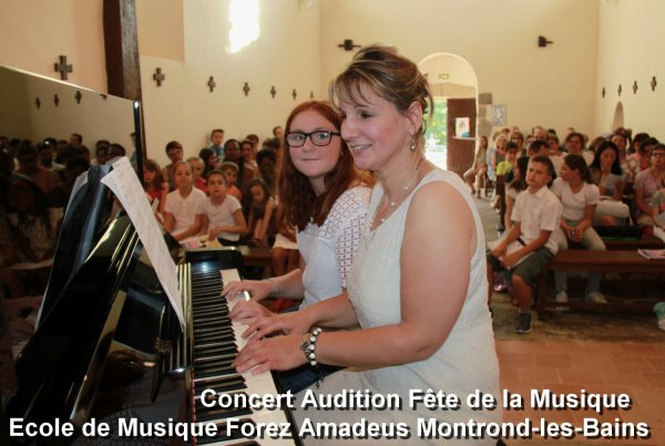Concert Fête de la Musique école FOREZ-AMADEUS MONTROND-les-BAINS