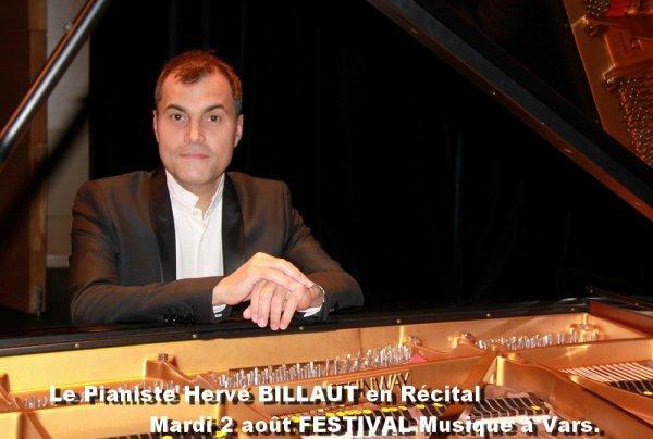 Programme concerts FESTIVAL Musique & Piano VARS 05