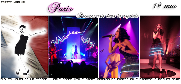 ☼ Concerts Paris ☼ + Actu' du printemps ;