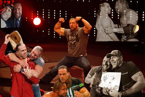 Parce que sa doit être long pour Triple h sans Shawn