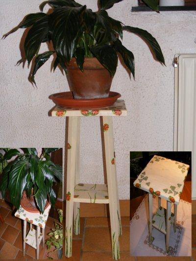 6 tabouret pour plante coccinelle et coquelicot. Black Bedroom Furniture Sets. Home Design Ideas