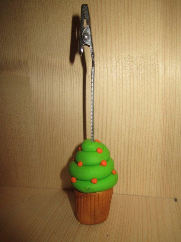 Porte photo Cupcake