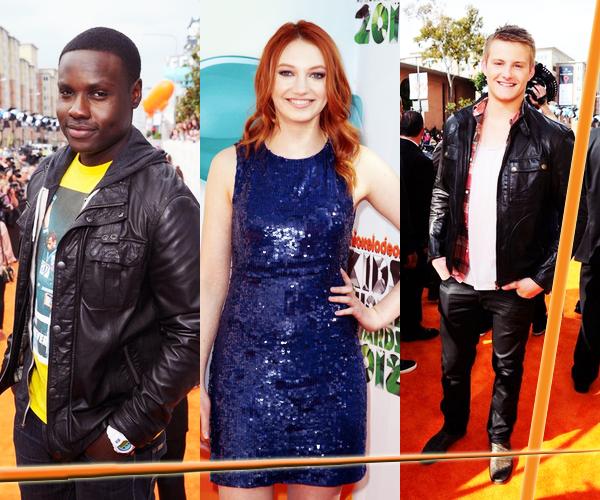 Le 31 Mars avait lieu les Kids Choice Awards. Ils étaient tous beaux !