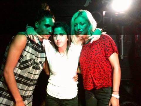 Eddy,moi et Stéphanie