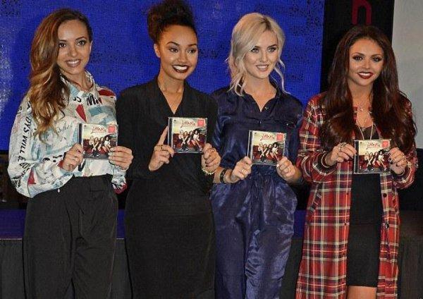 """Little Mix avec leurs nouvelle album """" Salute """""""