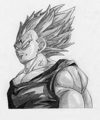 Vegeta Majin Vive Dragon Ball Z