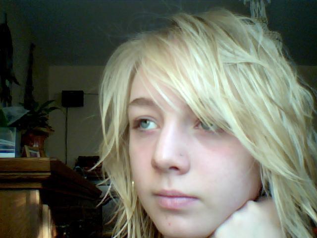 Une blonde parmis d'autres.