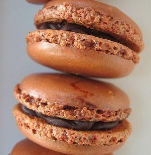 Macaron au chocolat, mes préférés !!!!!!!!!!!