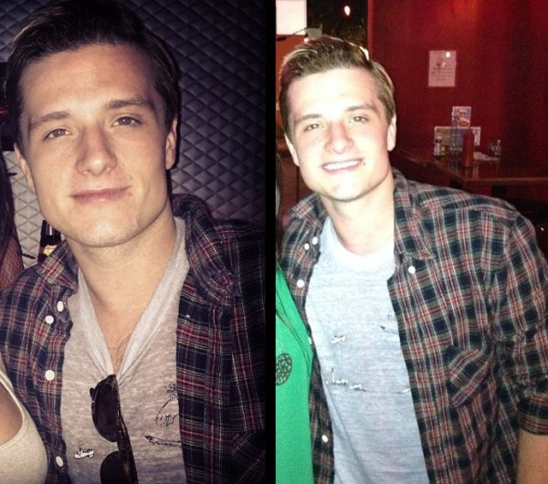 Photos de Josh au Hamburger Mary's (Los Angeles 19-09-12).